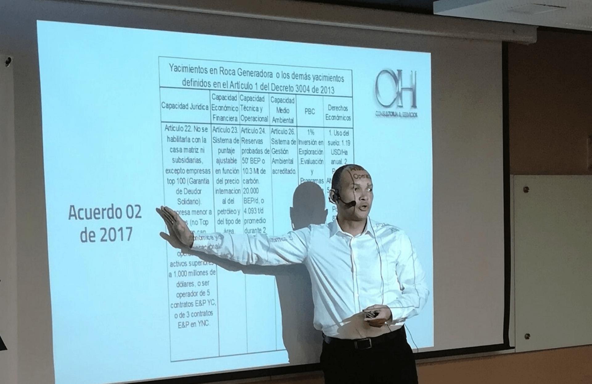 Protagonista de la industria OIL CHANNEL: Vicente Hormizda, Gerente OH consultorías y servicios